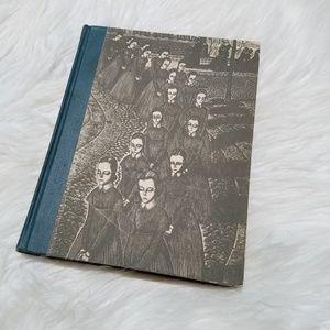 Vintage 1943 Jane Eyre Illustrated Novel Book